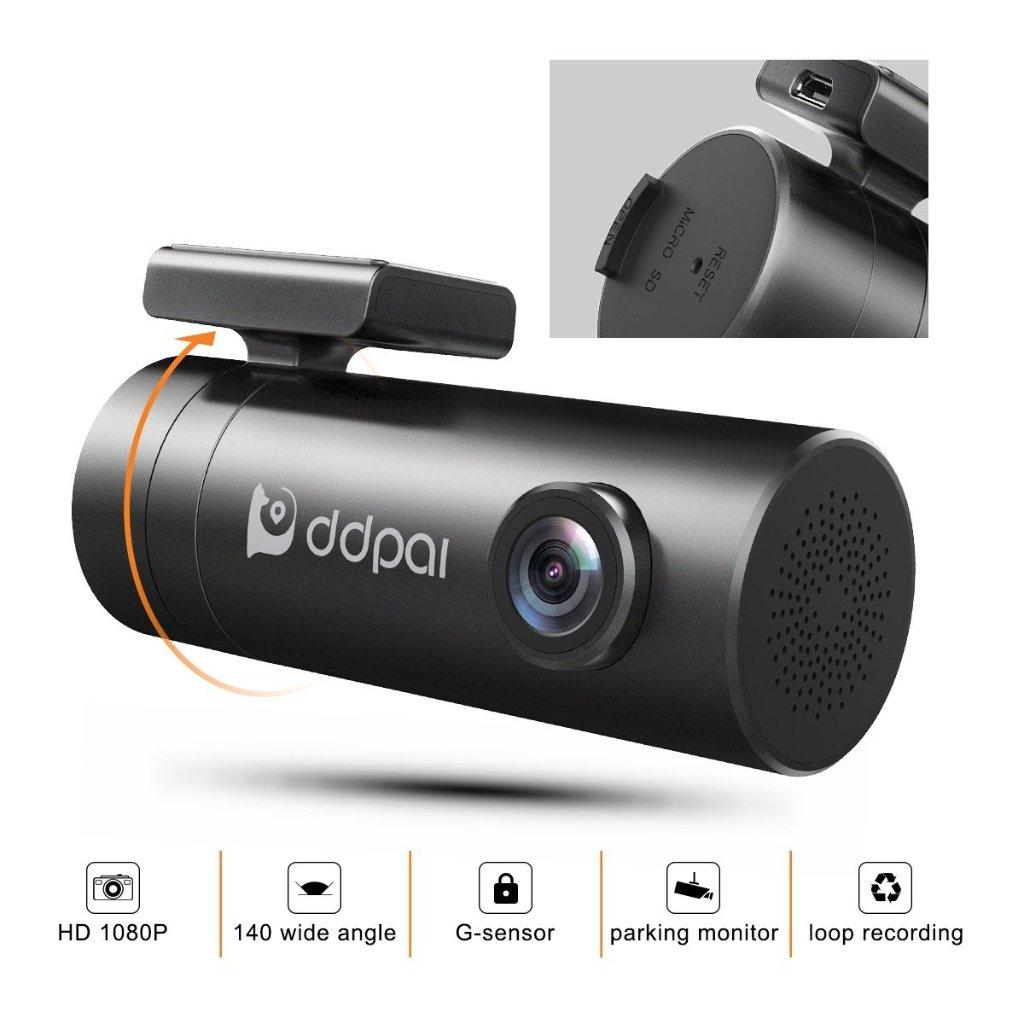 1080 Full HD Wide Angle Car DVR Dashcam