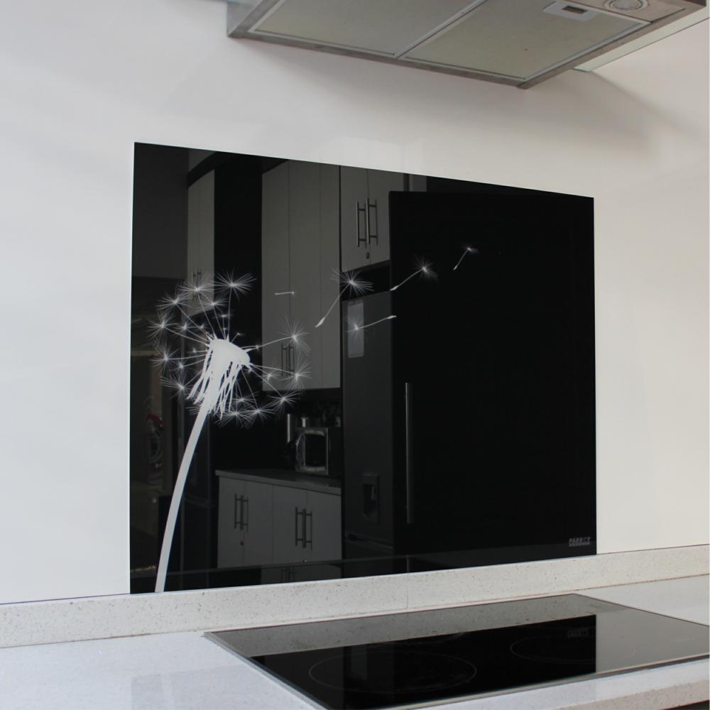 Dandelion Hob Glass Splashback (898 x 700 x 6mm)