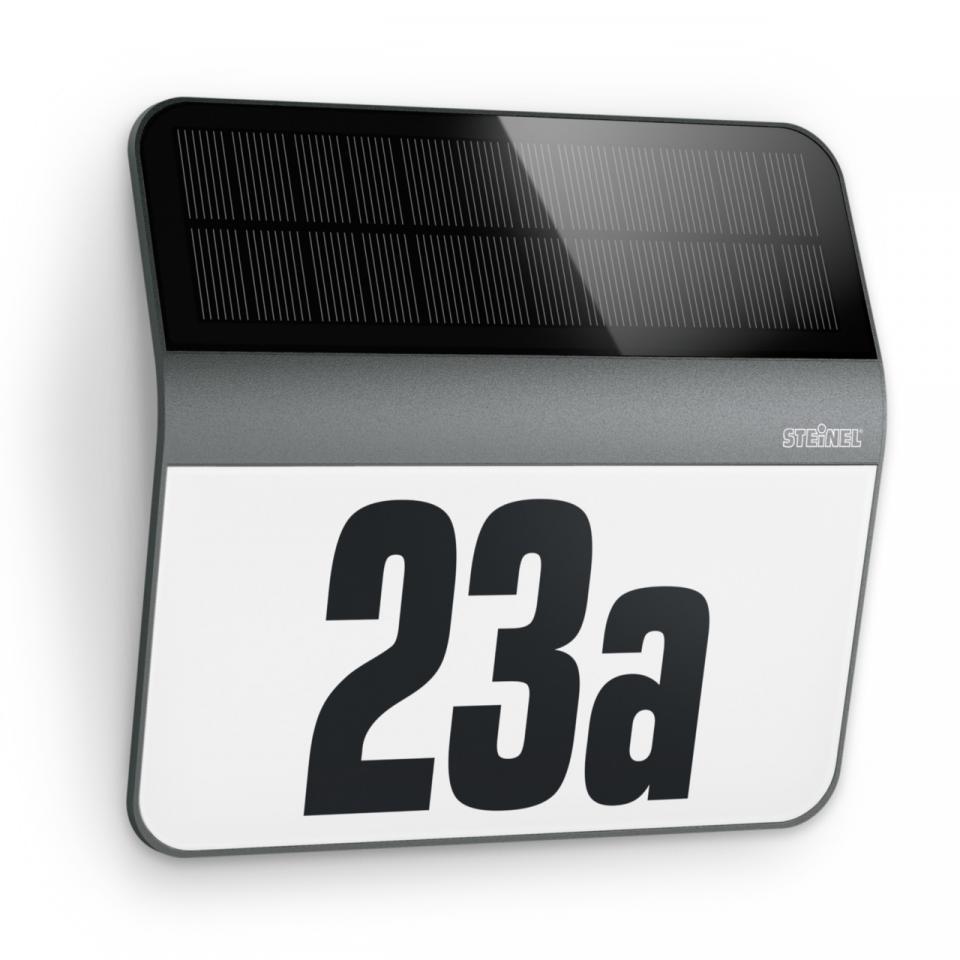 German Quality _ Steinel Solar LED Light XSolar LH-N House Number