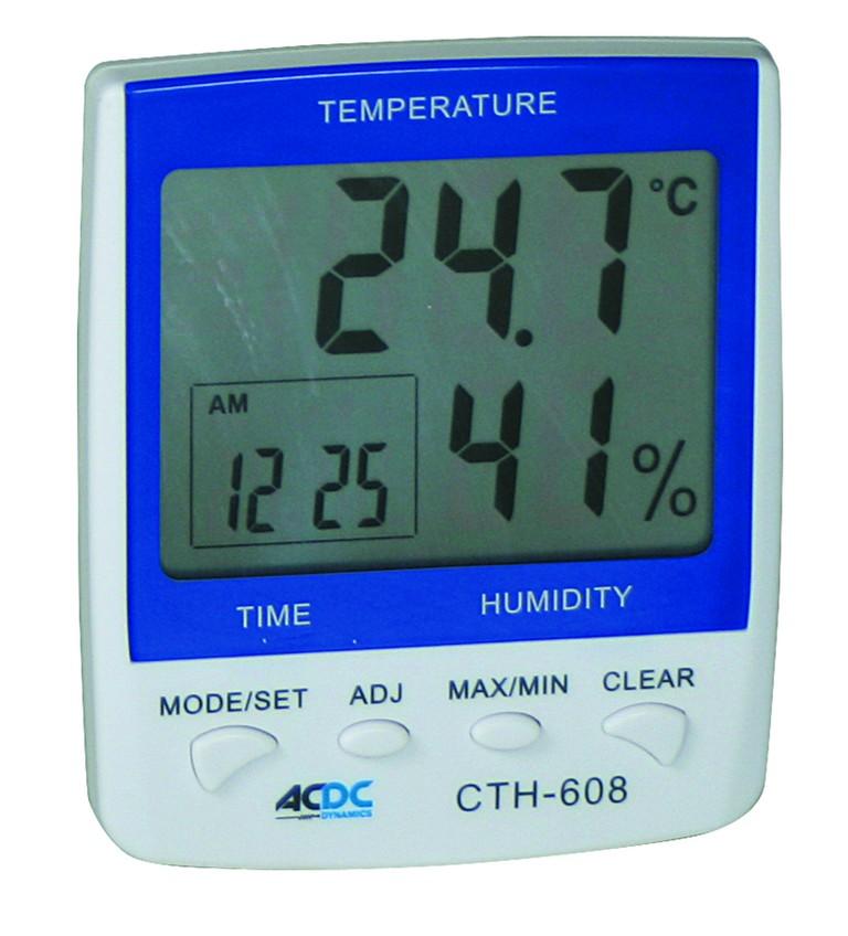 Digital Indoor Thermometer/Hygrometer/Clock