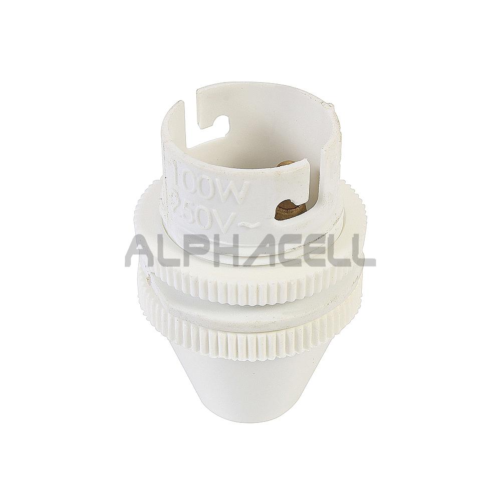LAMPHOLDER 10MM WHITE