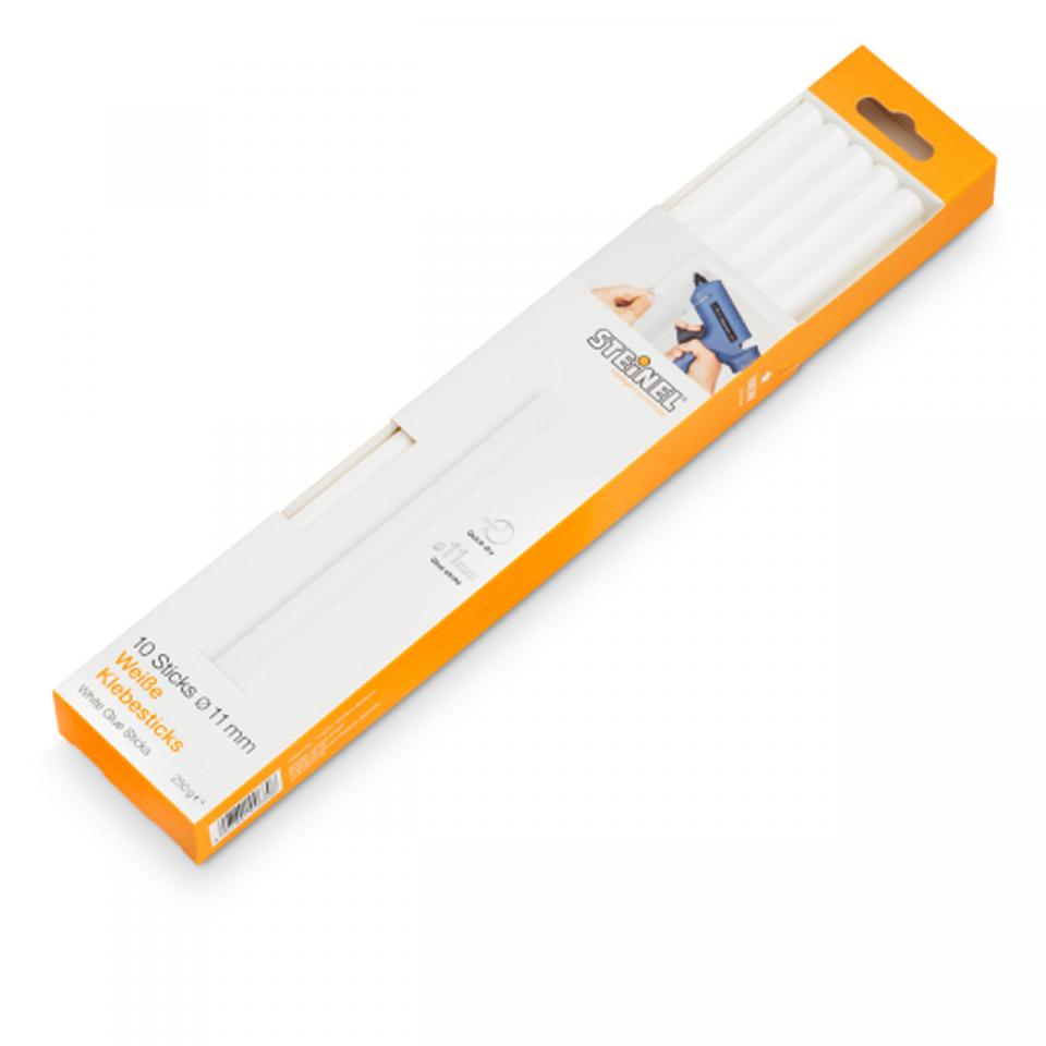 German Quality _ Steinel - 10 Glue sticks Ø 11 mm white