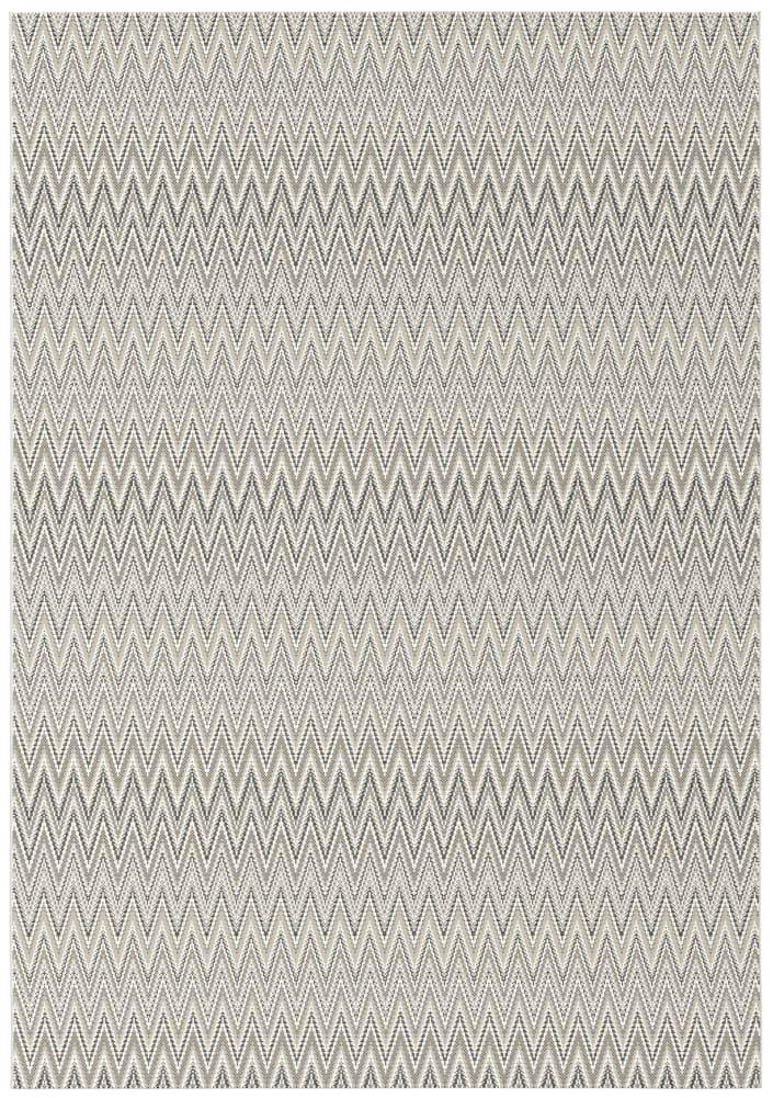 Rugs Original Zigzag Pulse Design Prisma - Cream  Light Brown & Black (160 X 230)