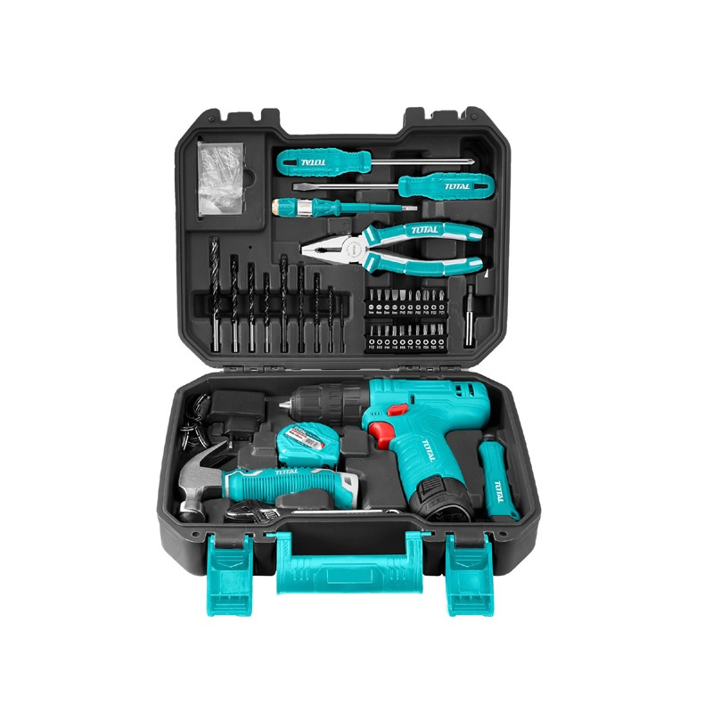 Total Tools Tools Set 81Pcs Household