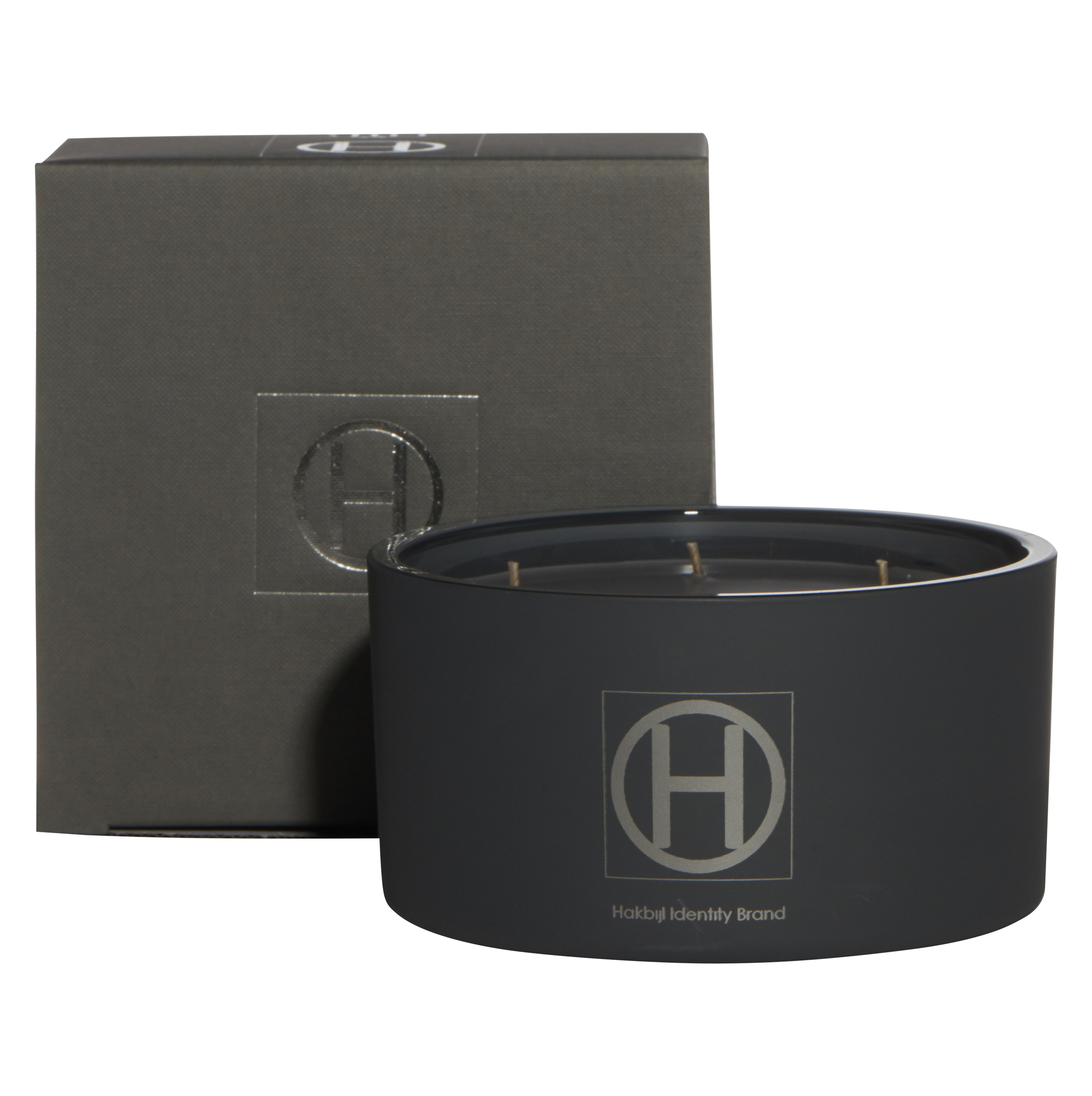 HiB Scented Candle - Matte Grey - Anthracite - D15