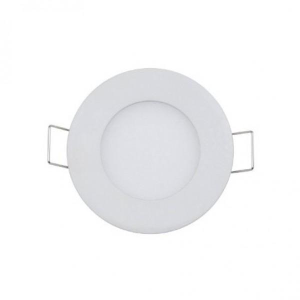 3W Round LED Panel Light - White