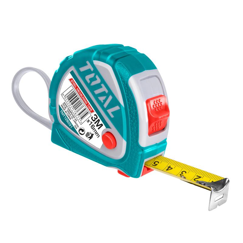 Total Tools 3 Pcs Steel measuring tape 3mx16mm