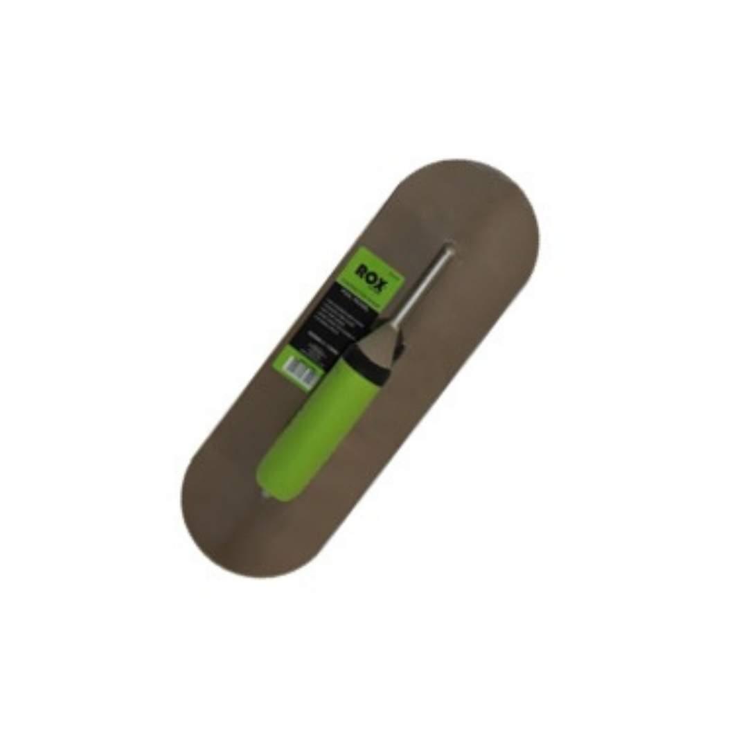 Rox® pool trowels - contractor range - 350mm x 115mm - TPE handle - stainless steel blade