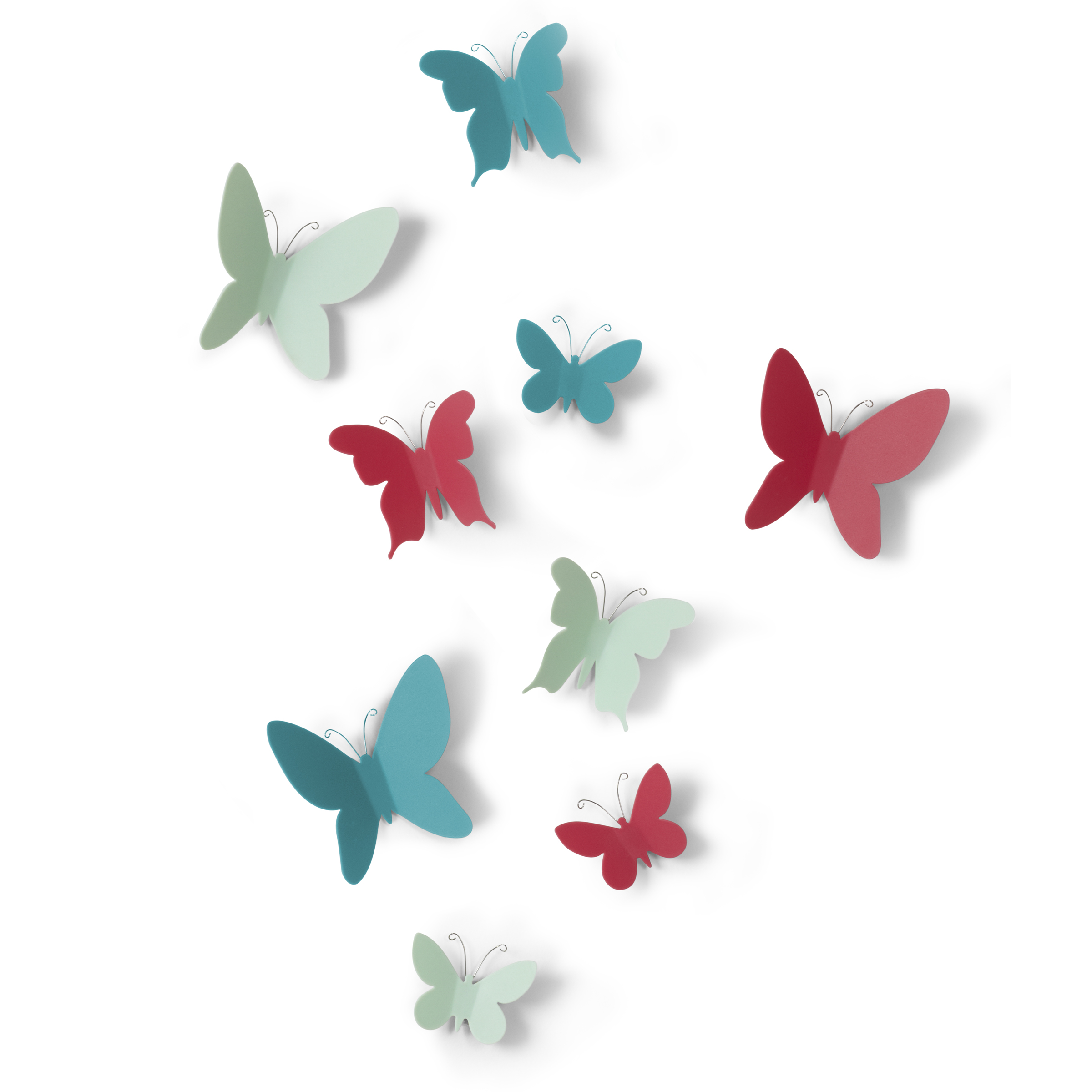 UMBRA MARIPOSA WALL DECOR (9) ASST