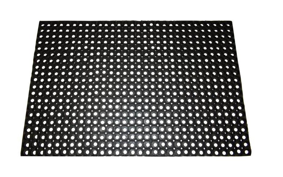 Rubber Ringmat Black 1000mm x 1500mm