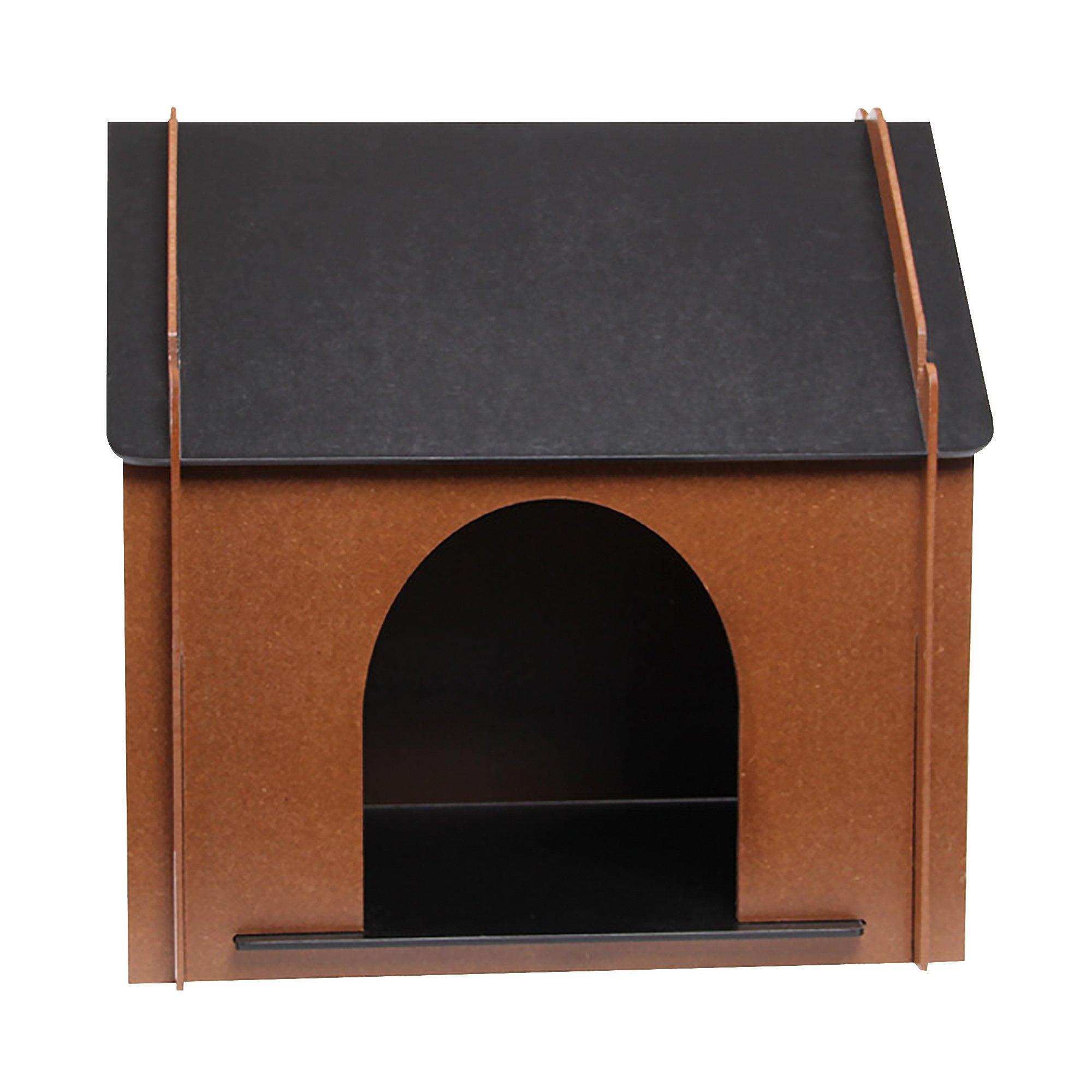 Indoor Wooden Pet Dog House Kennel