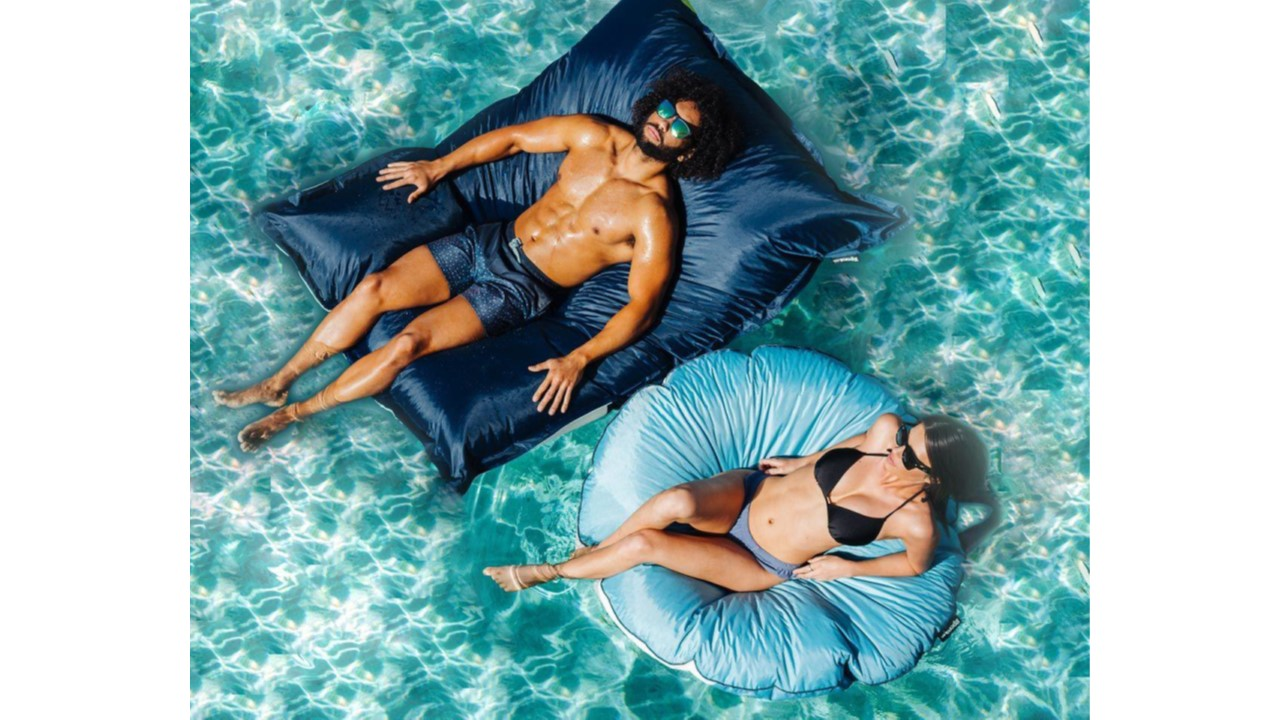 Pool Pillow Small Navy