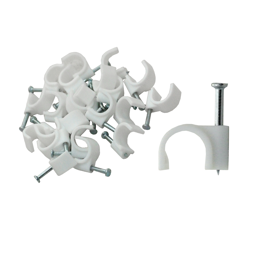 Cable Clip - 10ROUND (qty25)