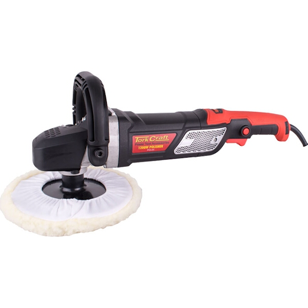 POLISHER 1200W 180MM B/PAD AND BONNET 1000-3000RPM CONST/POWER D-HANDL