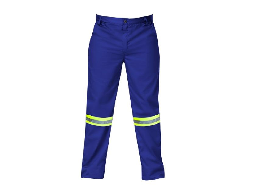 Titan Premium Royal Blue Workwear Trouser (with Reflective) Size 34