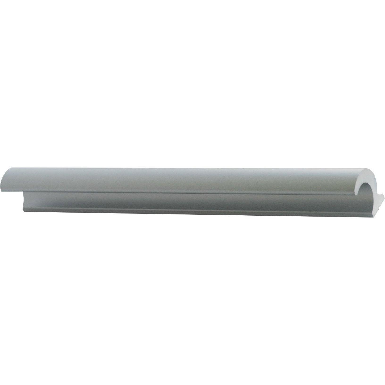 Aluminium grip handle - natural anodised.