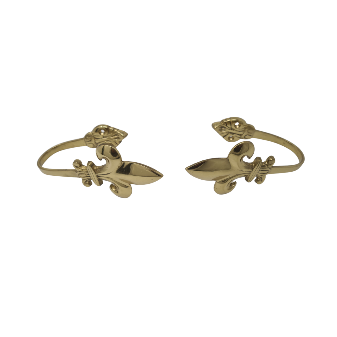 Solid Brass Curtain Tie-backs