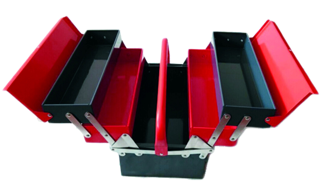 Steel Cantilever Tool Box - size 565 x 215 x220mm