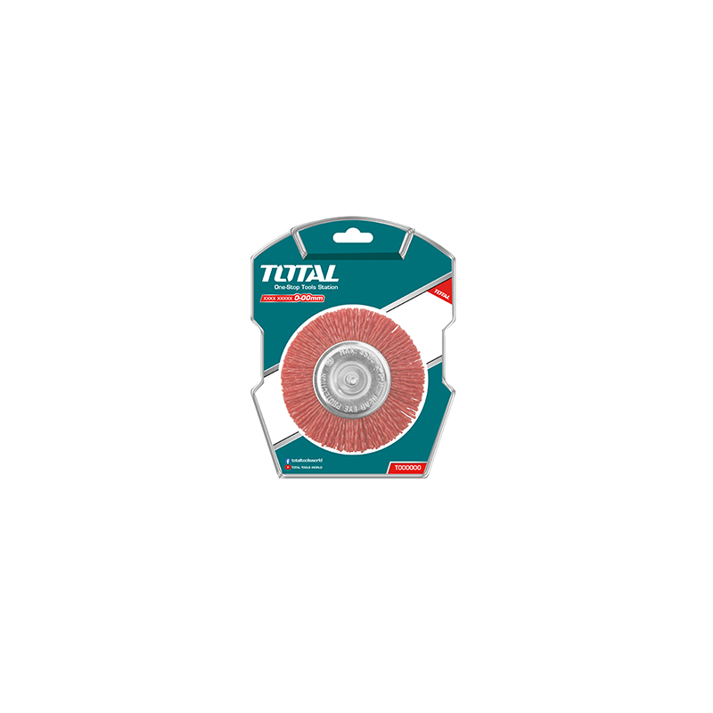 Total Tools Cup Brush 100mm Nylon