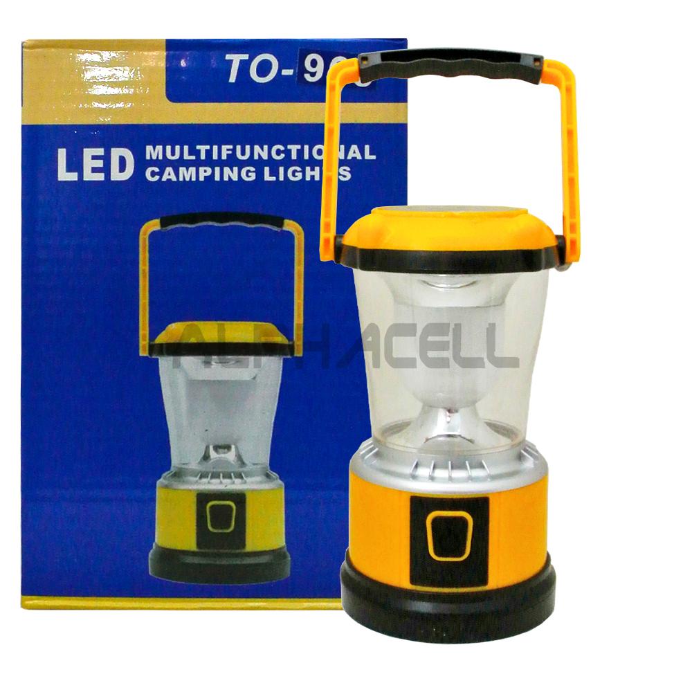 LED CAMPING LANTERN TO-968 BAT + SOLAR