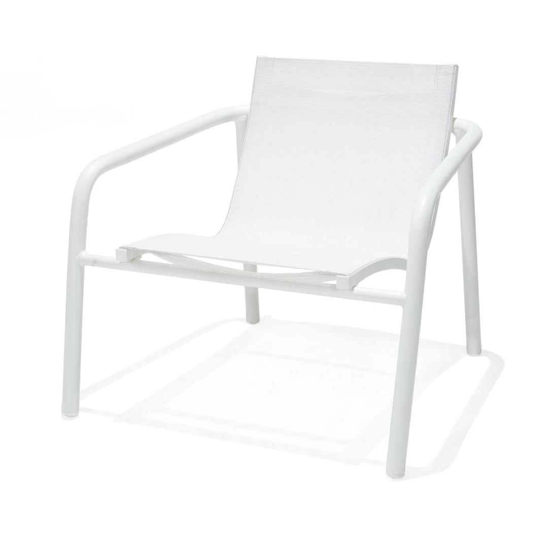 MON exteriors Skellig Lounger Chair White