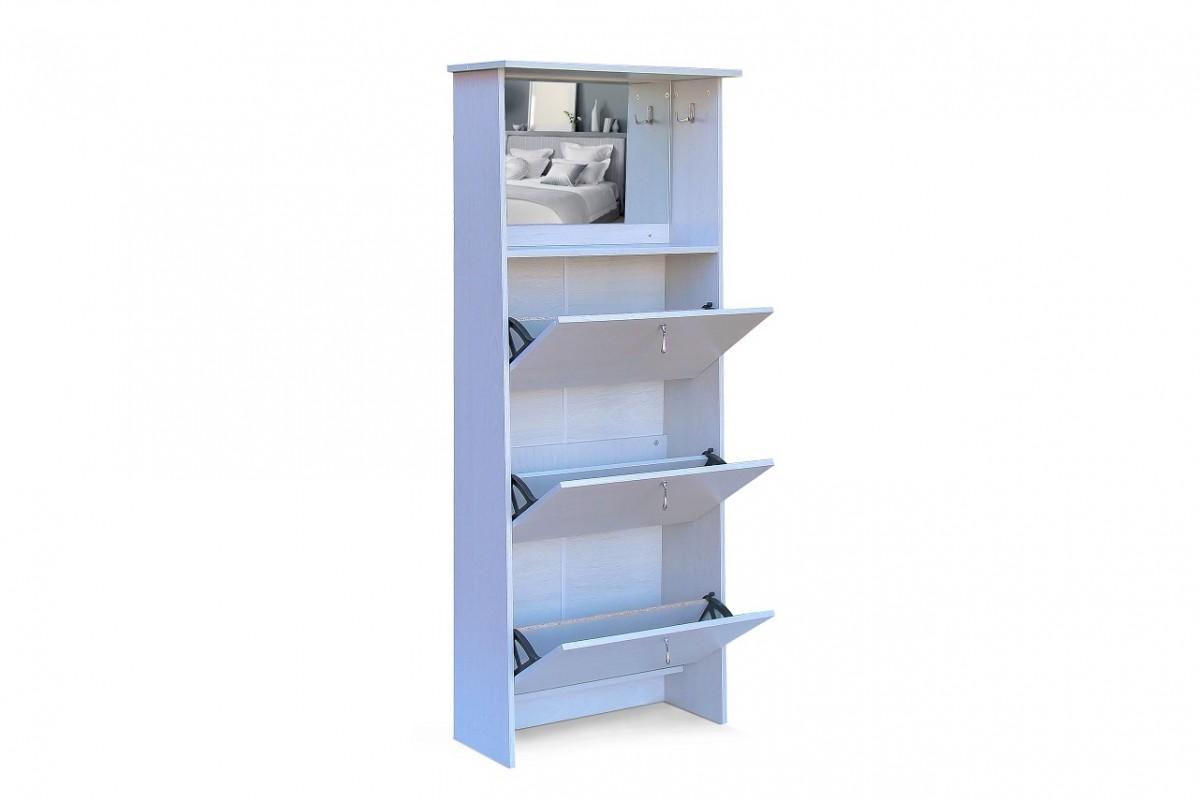 Shoe Cabinet - 3 Tier Mirror Vanity - Autumn