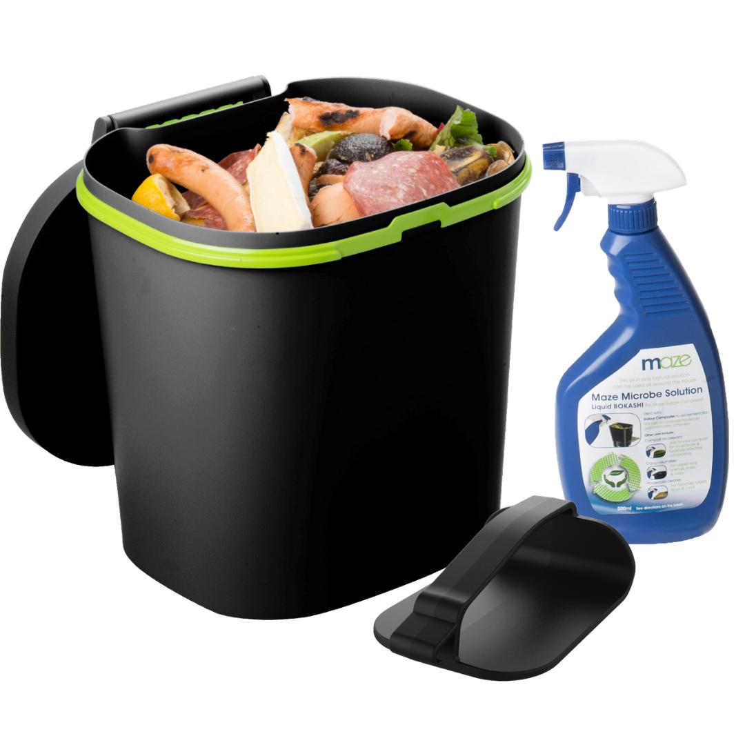 MAZE 12lt Bokashi Bin – Indoor Kitchen Composter Kit