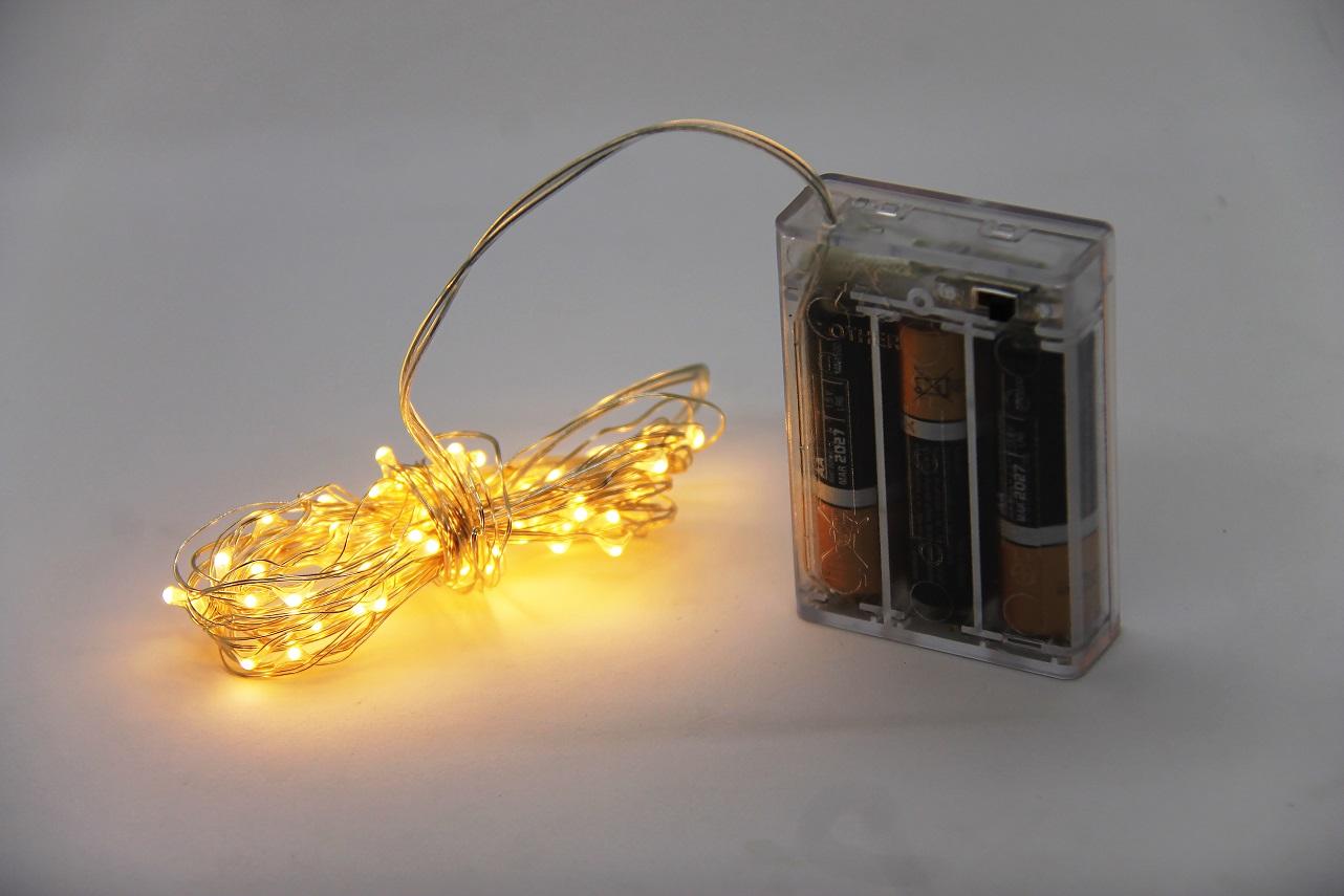 Copper String LED Lights - 5M