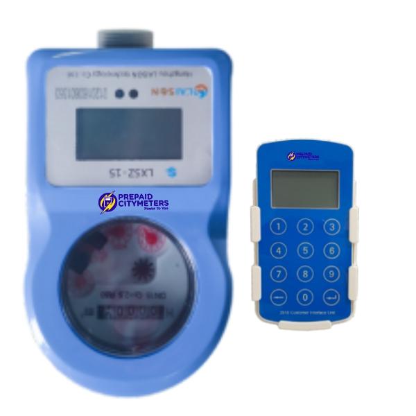 LAISON Split DN15 Prepaid Water Meter with Keypad (CIU)