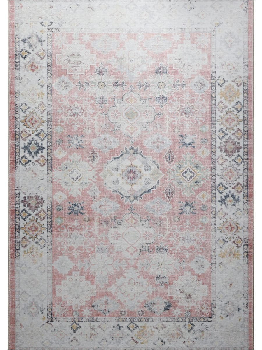 Rugs Original - Classic Shim Ziegler Washed Red - Red - 160 x 220 cm