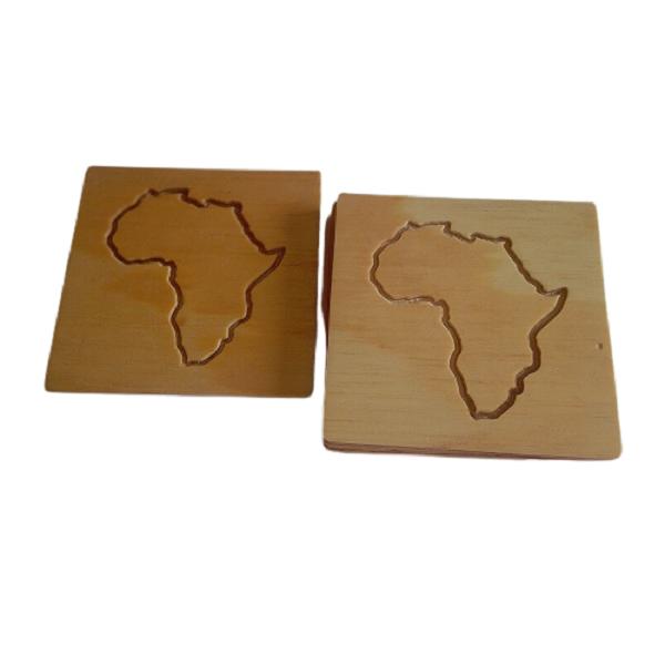 Africa Coaster: Set x6