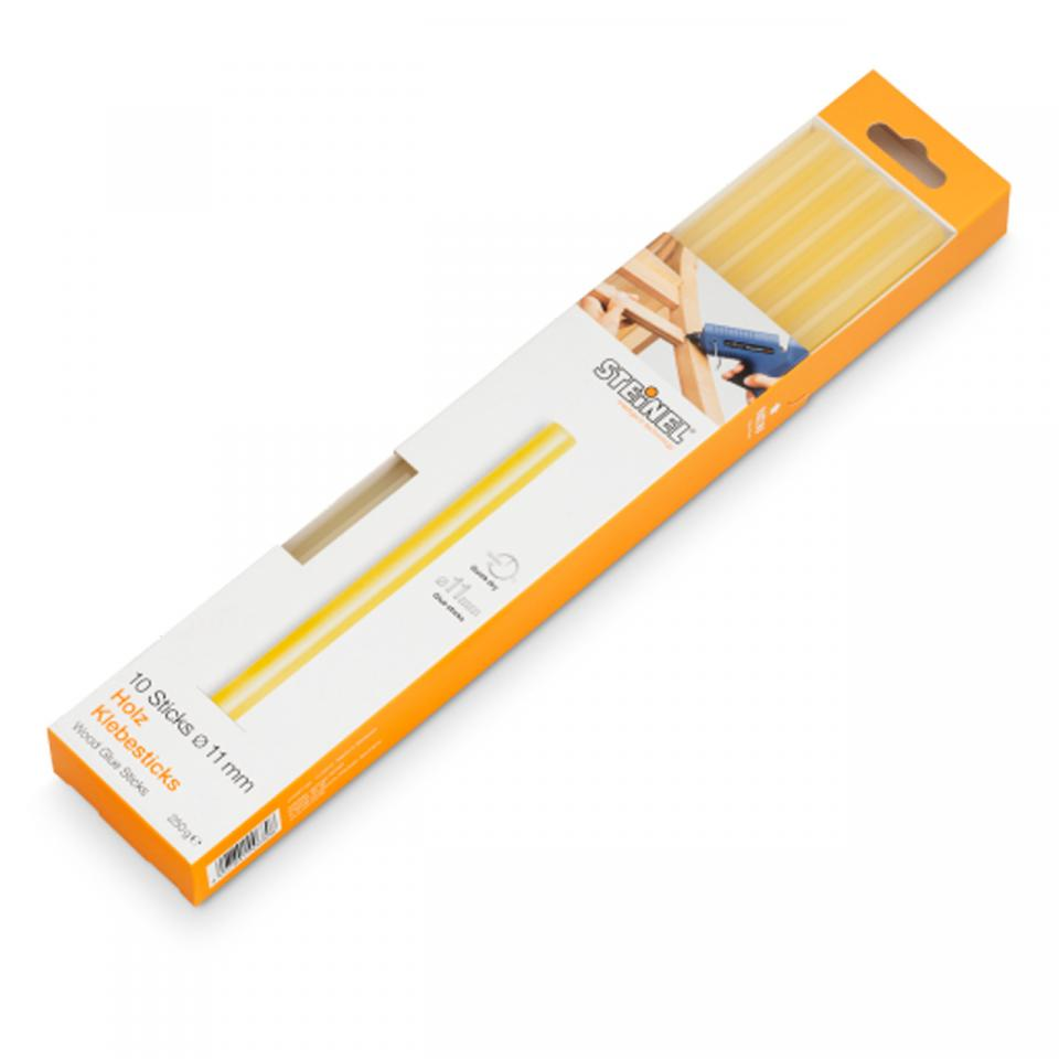 German Quality _ Steinel - 10 Glue sticks Ø 11 mm wood