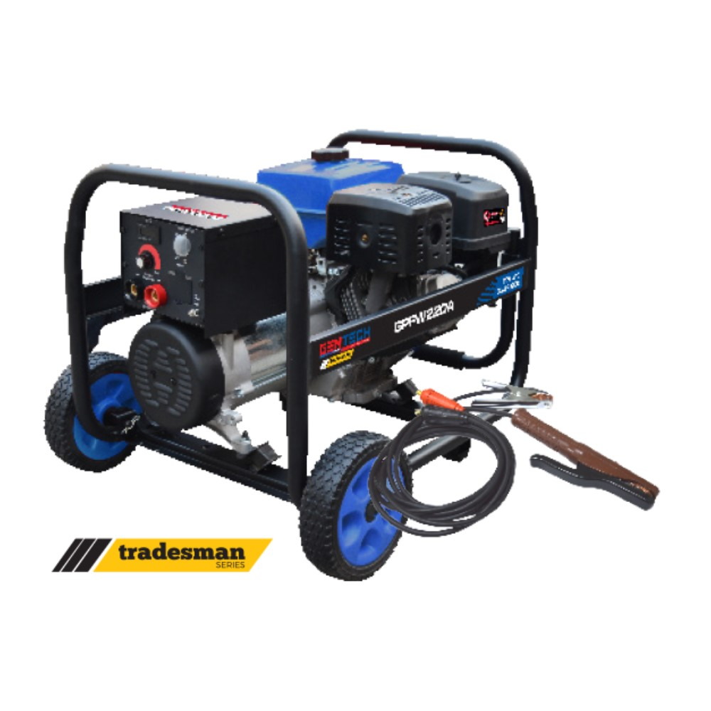 5.5KVA 210Amp Contractors Design Recoil Start Gasoline Welder Generator