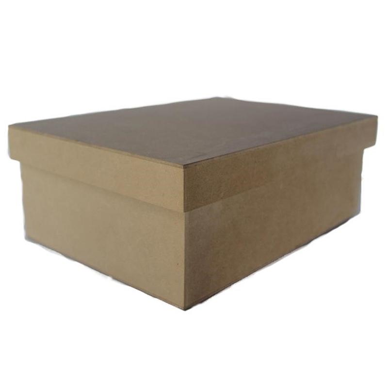A4 Superwood Storage  Box - Natural- Wood