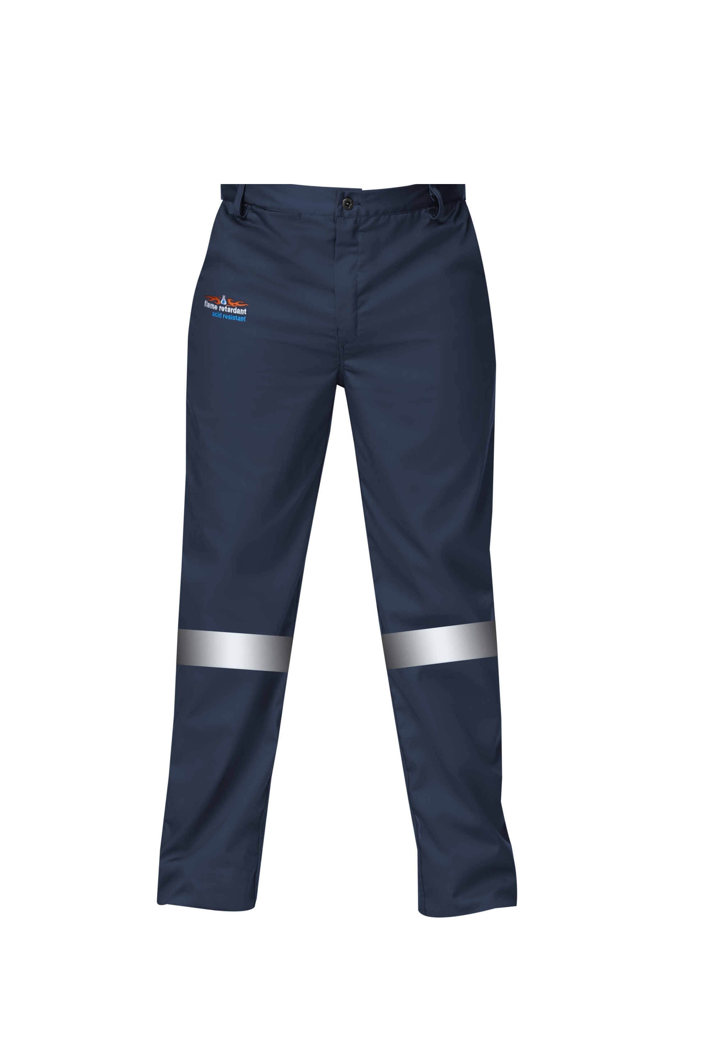 Endurance Navy Blue D59 Flame/Acid Conti Pants (with Reflective) Size  32