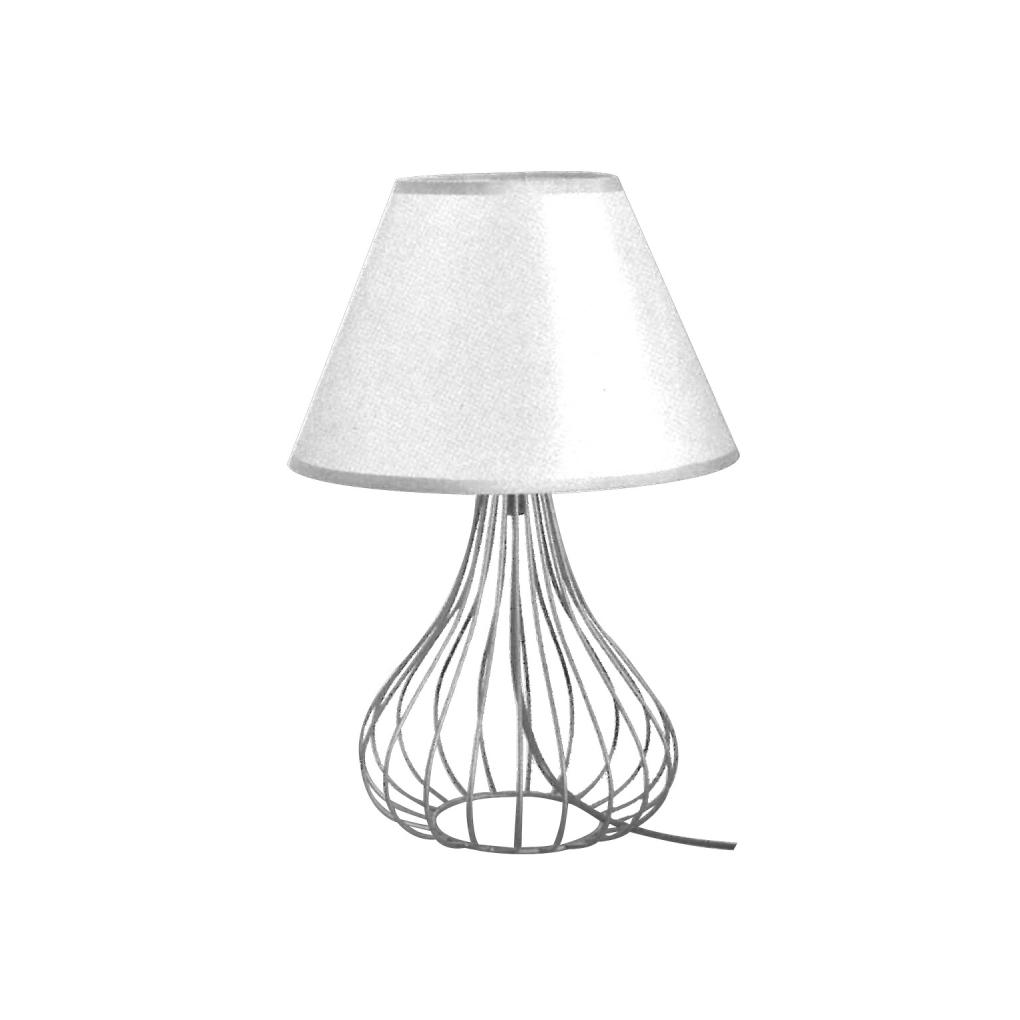 Scandinavian Table Light - White Bell Shape