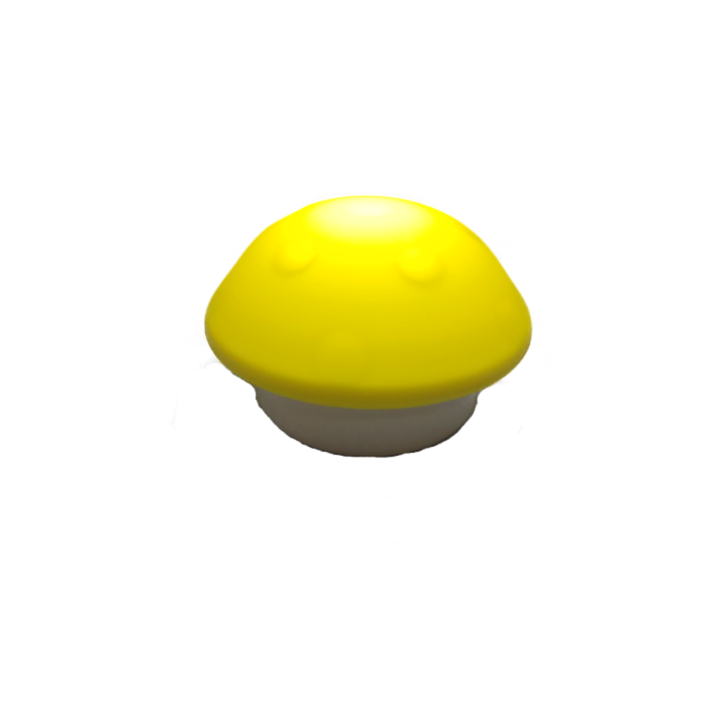 LED Mushroom Shaped Night Light - Yellow