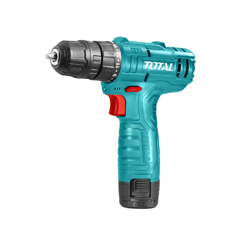 Total Tools Lithium-Ion Cordless Drill 12V