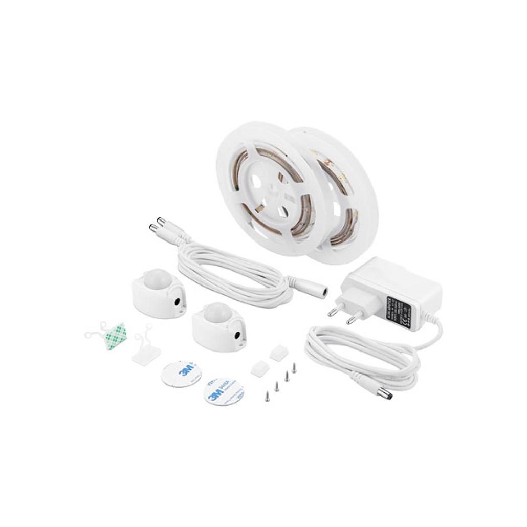 Underbed LED Strip Lights with Motion Sensor - 2 Pack
