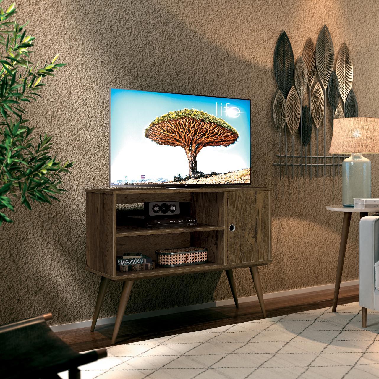TV Unit Reale Nogal