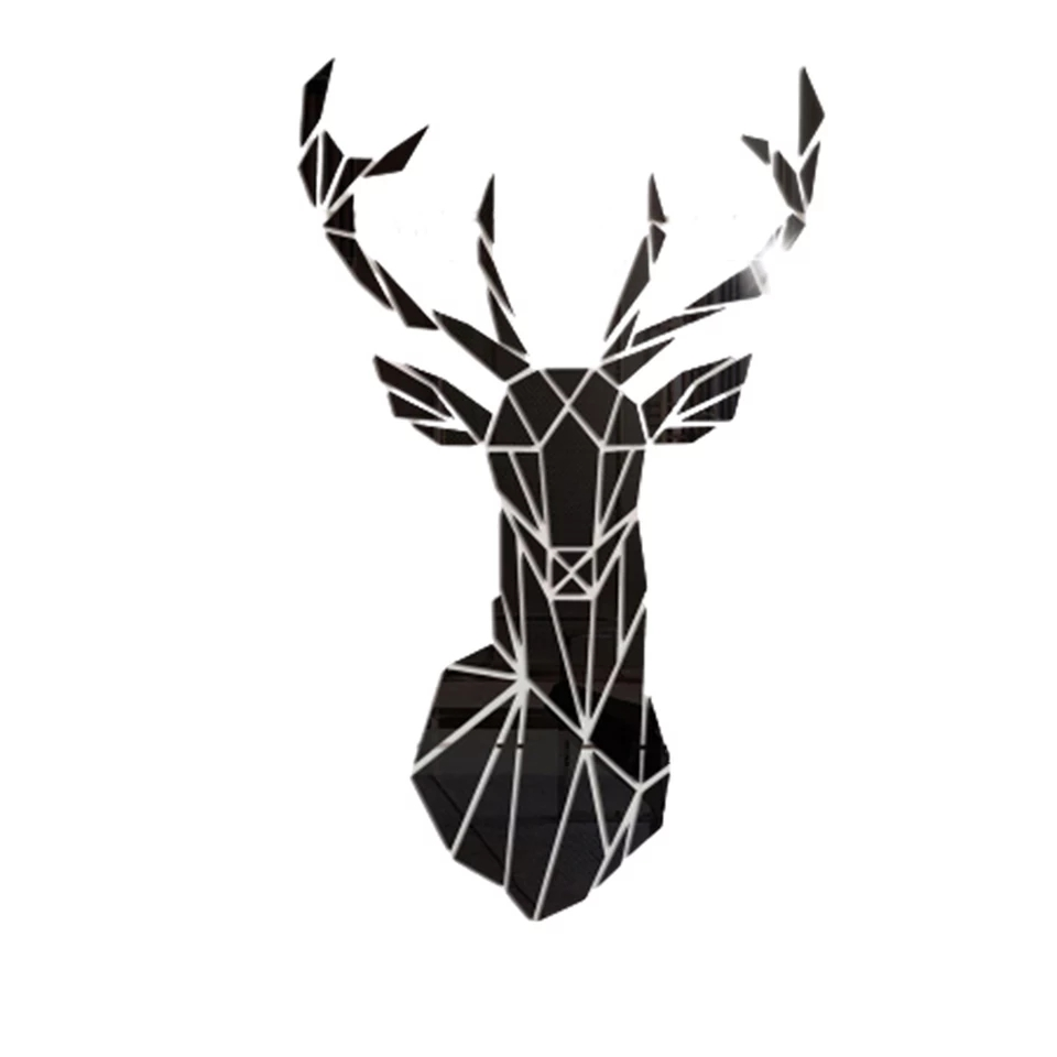 Black Antelopes Wall Art:26x43cm