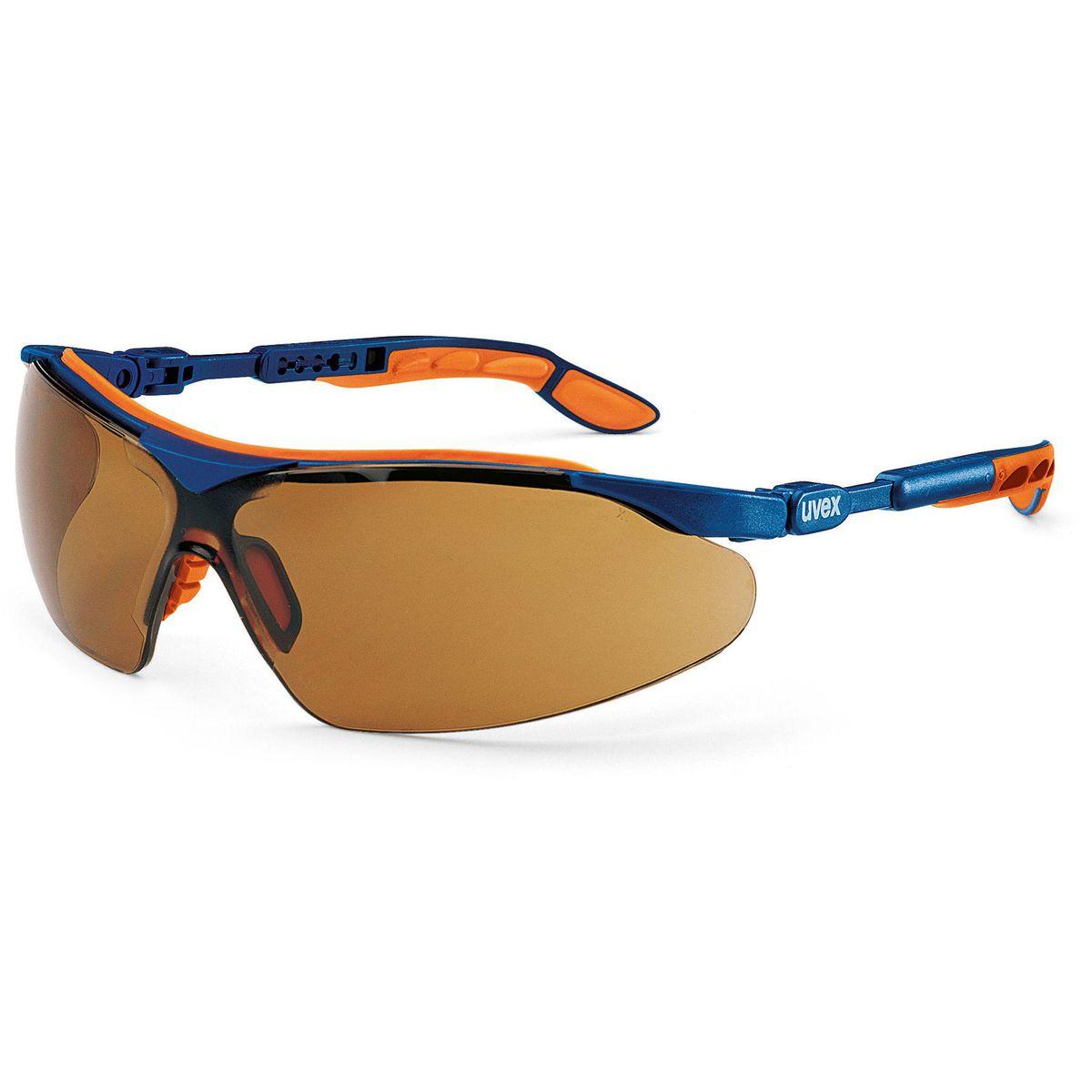 uvex i-vo Safety spectacles - Blue-Orange