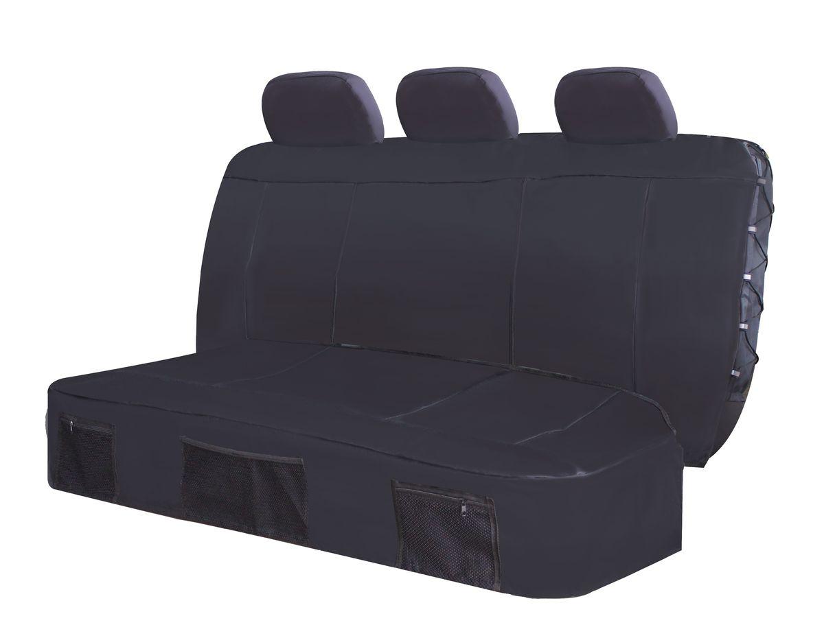 Rear  Seat Cover Set - Safari 4 Piece - Black