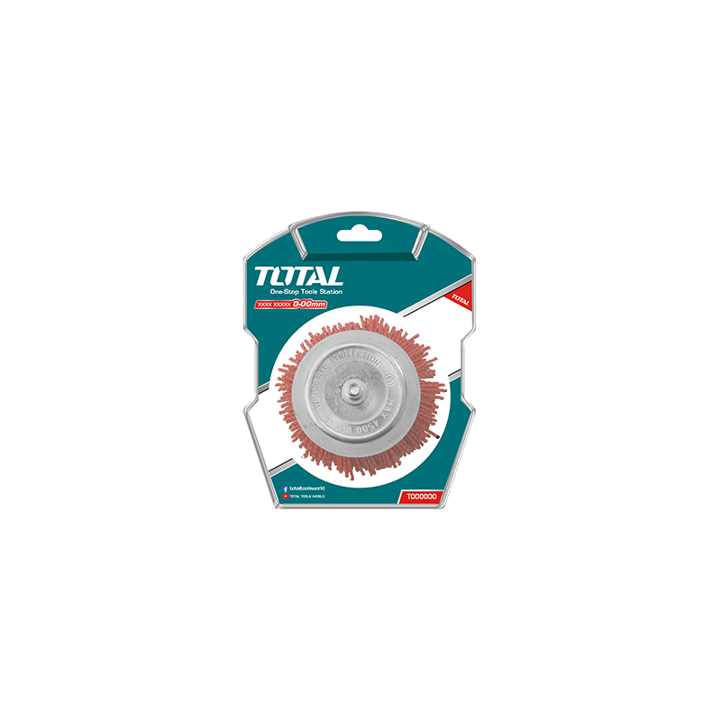 Total Tools Cup Brush 50mm Nylon