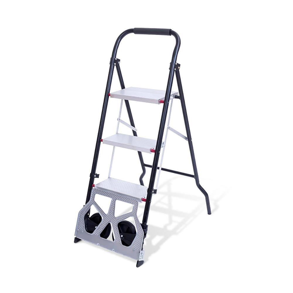 Trolley + Ladder Dual-Use Pull Cart