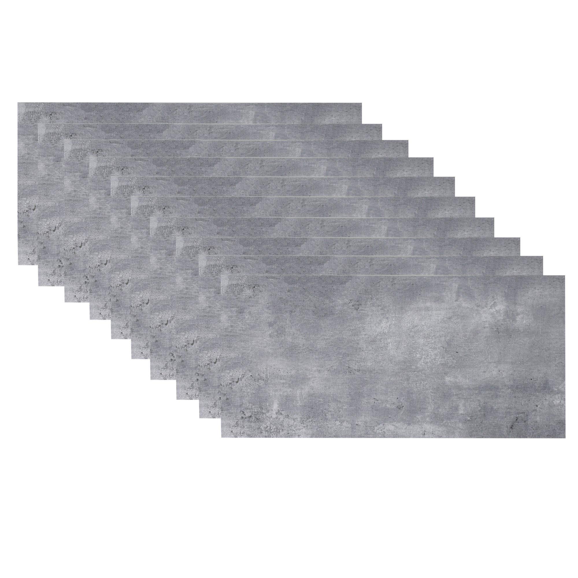 Self-adhesive Floor Plank Wall Sticker 10Pcs