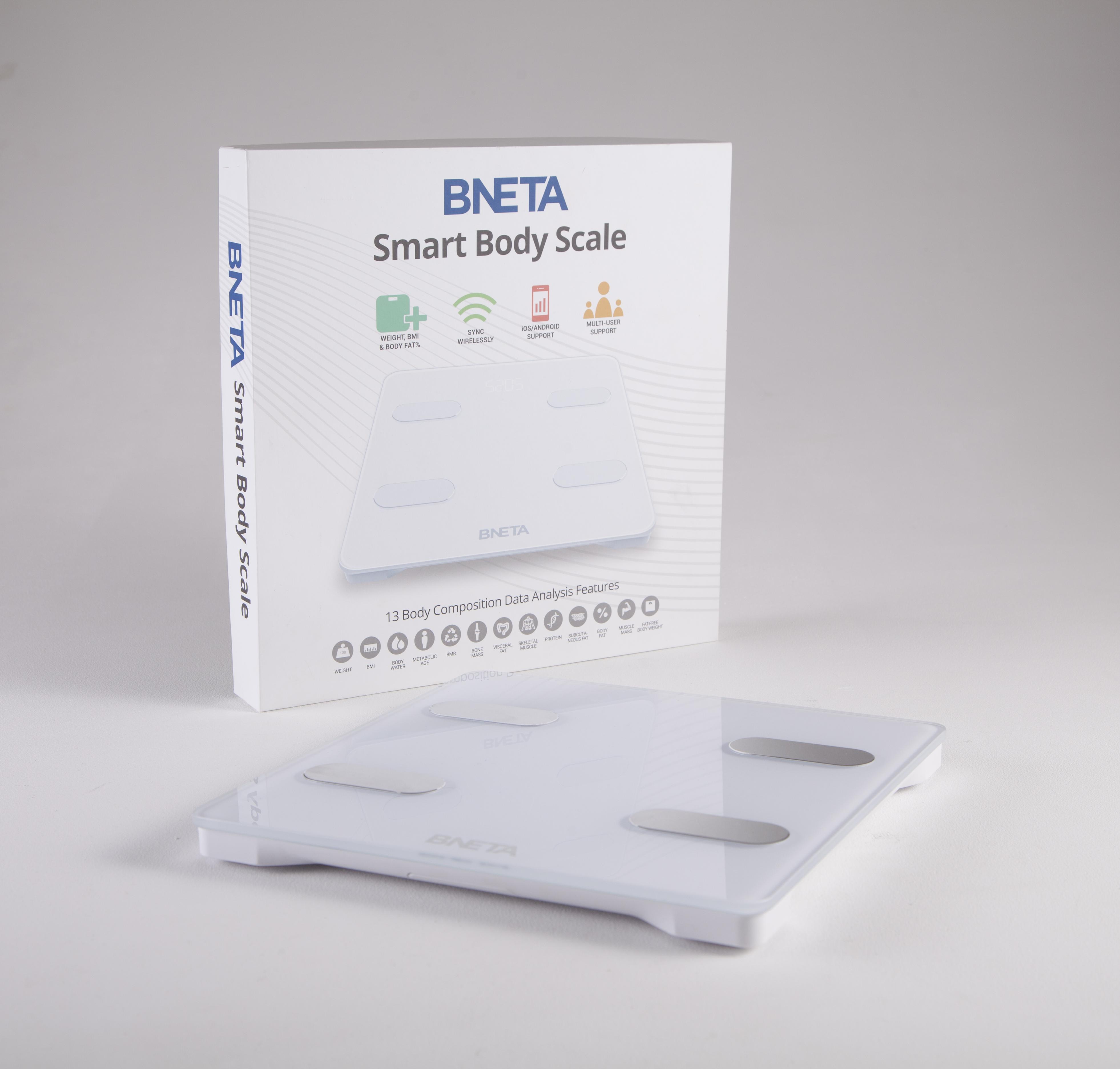 BNETA Smart Body Scale – Bluetooth Body Composition Analyzer