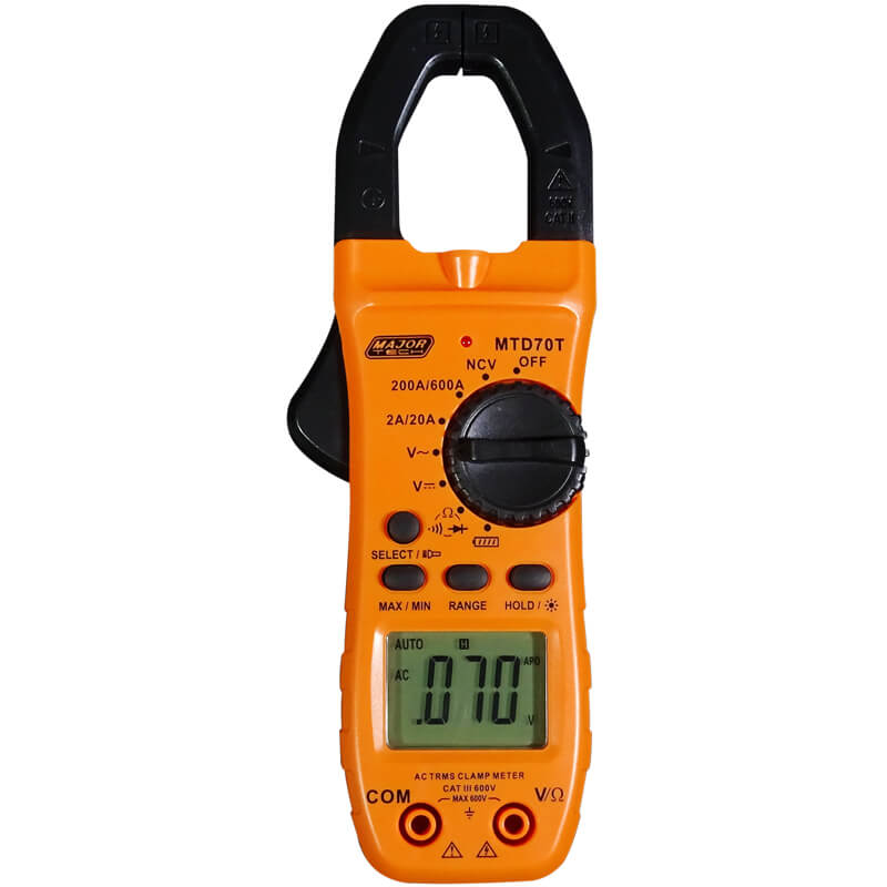 AC Digital Clamp Meter True RMS 600A