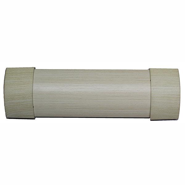 Matoc 106mm Curtain Pelmet - Creamwash - 2.0m