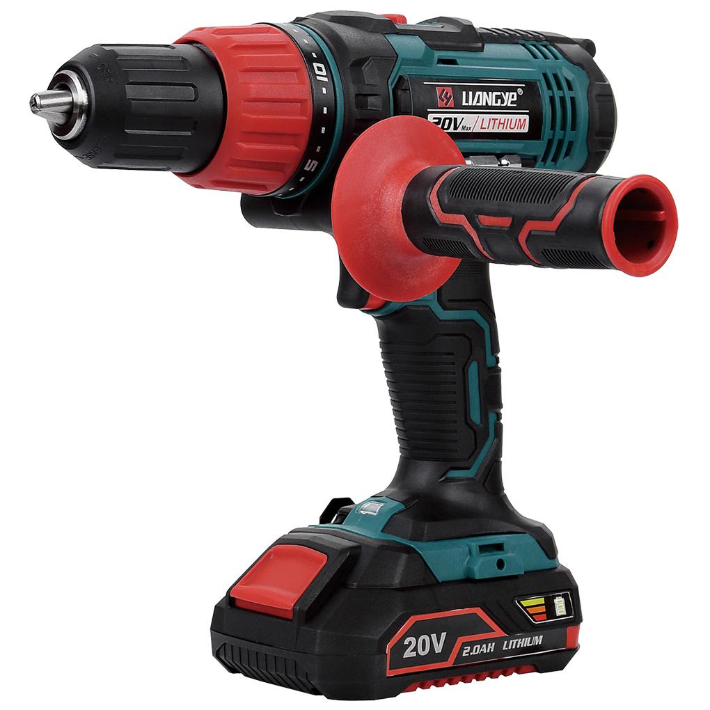 20V 2.0AH Cordless Hammer Drill
